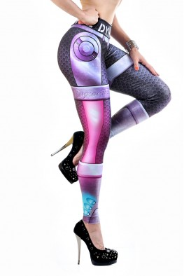 Robotic armor Leggings