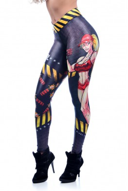 I am Dynamite girl Leggings