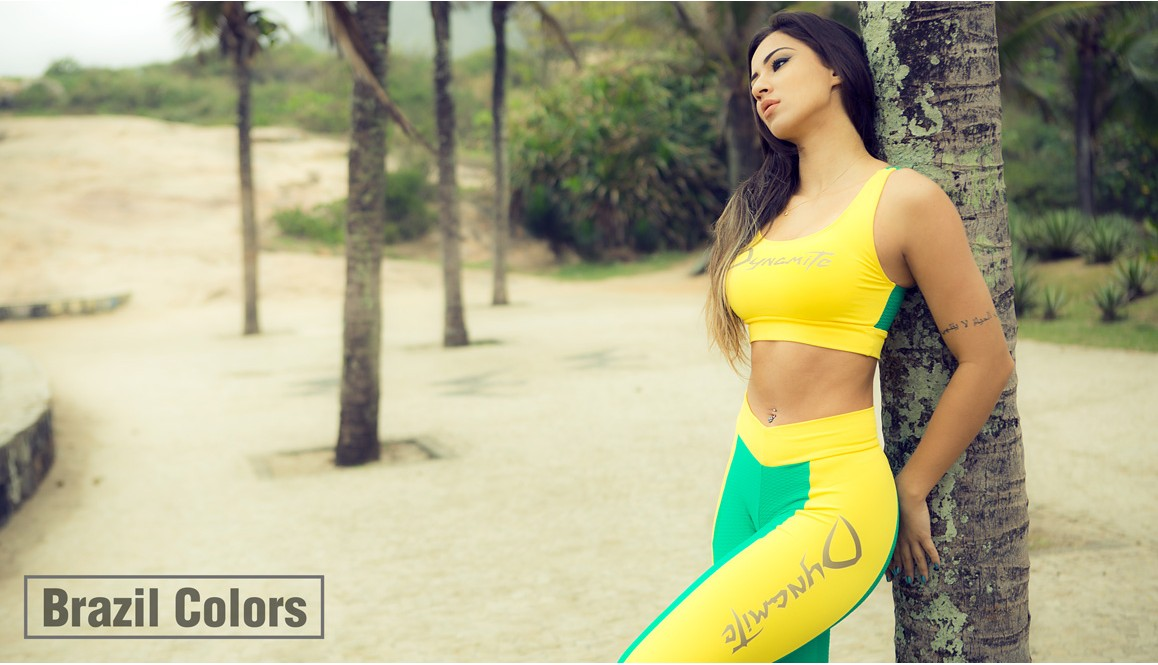 Legging and Top Brazil Colors