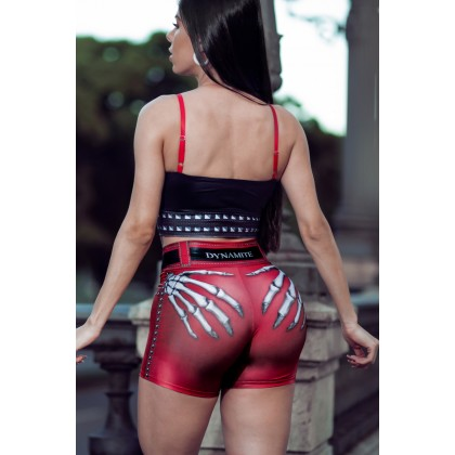 Top fitness Naughty Skeleton RED Dynamite
