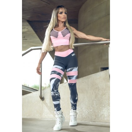 Top Cropped Baby Pink