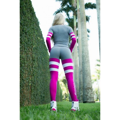 Legging Angel- Blush Stripes
