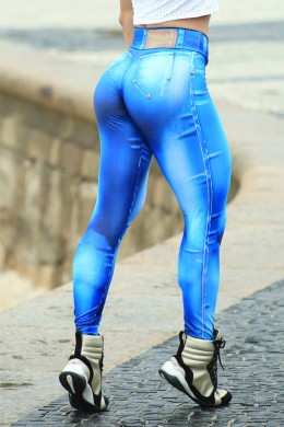 Legging Denim Bodypaint