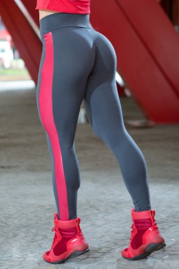 Calça Legging Lateral Zarak Red Dynamite