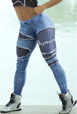 Calça Legging Placebo Denim Dynamite