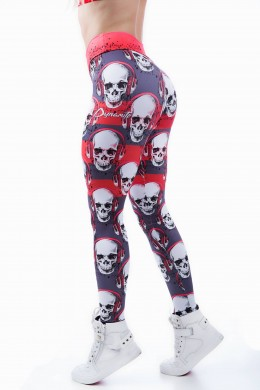 Legging skull music