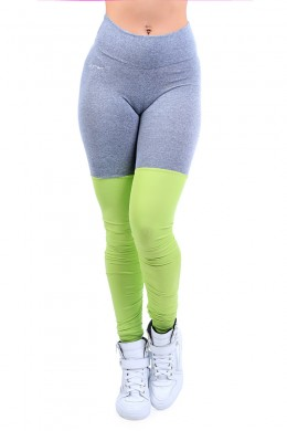 Legging Yoga Mescla Lime
