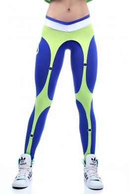Legging Espartilho Royal Lime