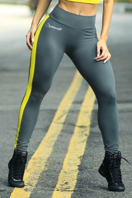 Calça Legging Yellow Loader  Dynamite