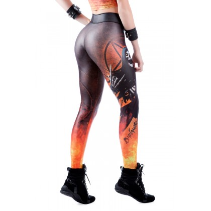 Legging Heavy Metal