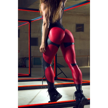 Macacão Fitness Bordô Apple Booty Dynamite