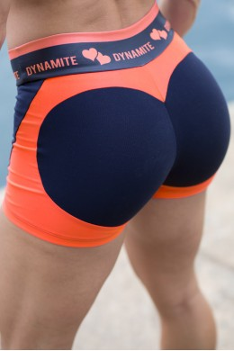 Short Fitness Apple Booty Tangerine Dynamite