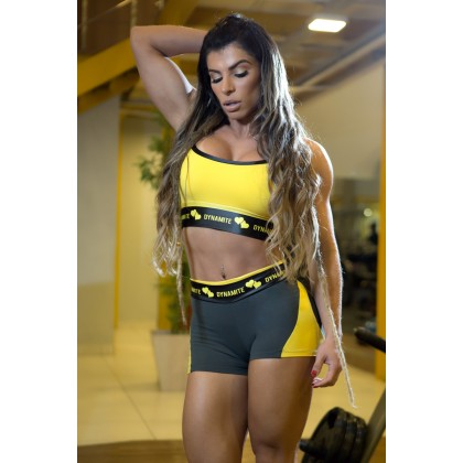 Top Feminino Nadador Sunflower Dynamite